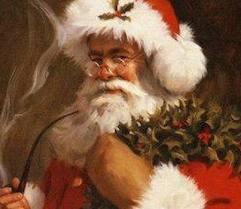 """The smoke it encircled his head like a wreath..."" Image: facebook.com"