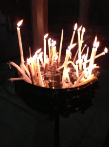 Candles for prayer