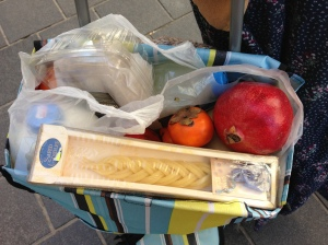 Groceries for Shabbat