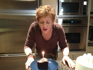 I have my cake, and I'll eat it too... with a single candle.