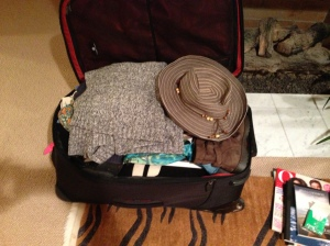 And this bags just right! I'm ready to go...