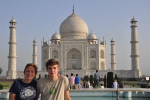 At Taj Mahal, 2010