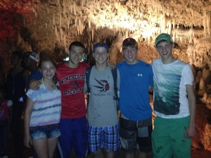 Studies show: cousins that cave together, stay together...