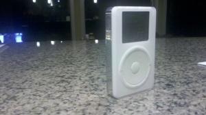 Original iPod. It still plays!
