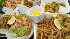 Fried clams or lobstah rolls, either way I'm home in Massachusetts