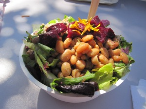 But so does my favorite salad at the Farmer's Market