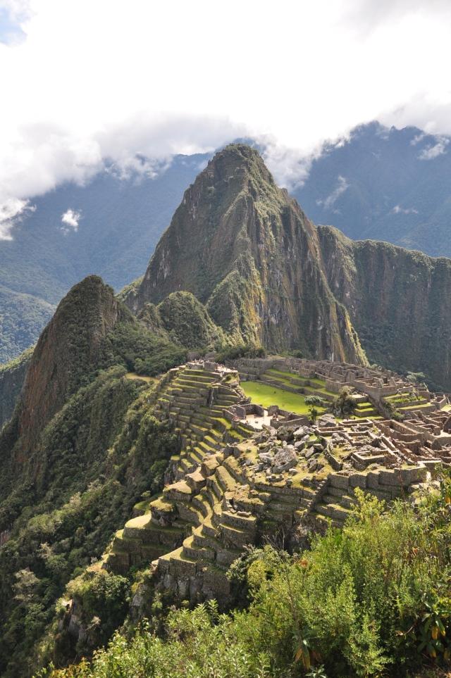 Behold: Machu Picchu