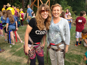 Yeah, that's right: Tales From the Motherland and Hot Pink Underpants are wild and crazy girls... we zip line, and we're writers! Yo!