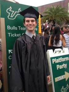 The college Grad, at USF