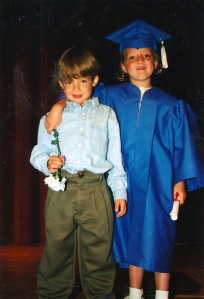 Graduation expectations were easier... when they were little.