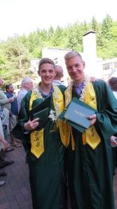 Graduation day...