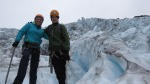 At the icefall... photos can not adequately show the size