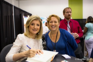 Do Arianna Huffington's children call her lame?