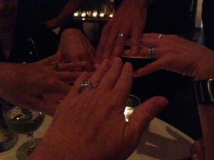 One of these rings might have gotten one of us lucky that night... right Gabriel?