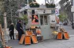 The street food...