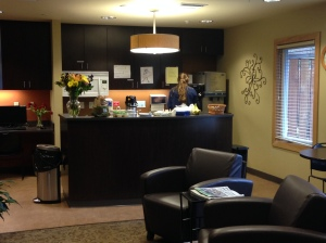 and the Family Room kitchen area