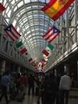 O'Hare's iconic hall of flags