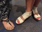 sister feet.