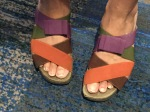 Colorful feet...