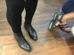 I met WordPress feet (who can dance!)...