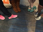 an eclectic shoe society...