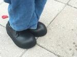 minion feet...