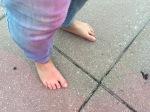 naked feet!