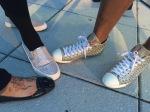 Some feet shine together...